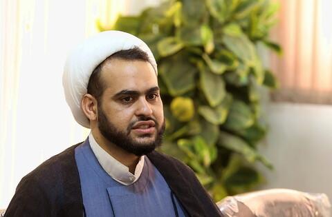 تصاویر/ بازدید مدیر روابط عمومی حرم حضرت معصومه(س) از خبرگزاری حوزه