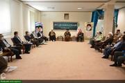 بالصور/ اجتماع أعضاء مجلس الأمر بالمعروف والنهي عن المنكر لمحافظة أذربيجان الغربية في إيران