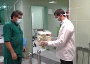 نسیم مهر رضوی به بیمارستان معین بیماری کرونا رسید