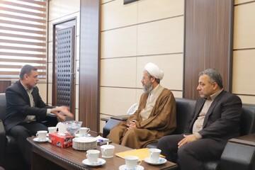 تصاویر/ دیدار مدیر حوزه علمیه سمنان با رئیس دادگستری استان