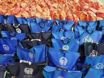 توزیع بیش از ۳۳۰ بسته معیشتی به مناسبت سالگرد شهادت شهید ابراهیم رشید