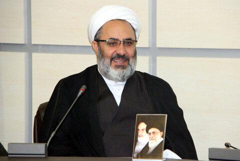 حجت الاسلام عبدالرحیم نجفقلی زاده سرایی- مسئول نمایندگی ولی فقیه در سپاه آذربایجان غربی
