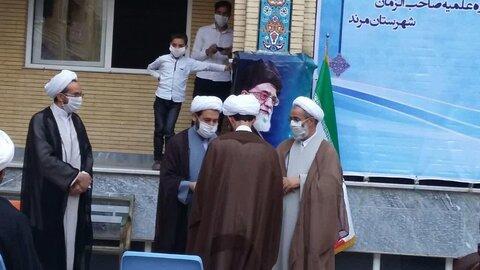 عمامه گذاری طلاب حوزه علمیه مرند