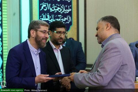 بالصور/ مراسيم الاحتفاء بذكرى افتتاح راديو المعارف بقم المقدسة