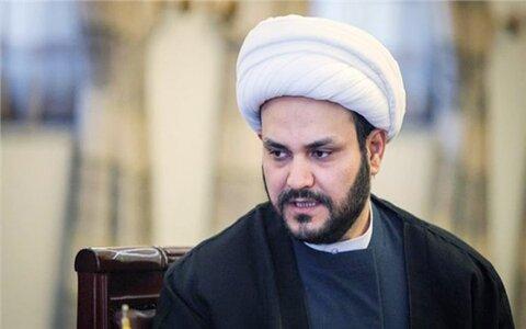 شیخ اکرم الکعبی دبیرکل جنبش النجبا عراق