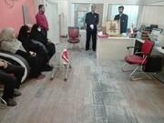 تصاویر/ حضور خادمان رضوی در دفاتر رسانههای همدان