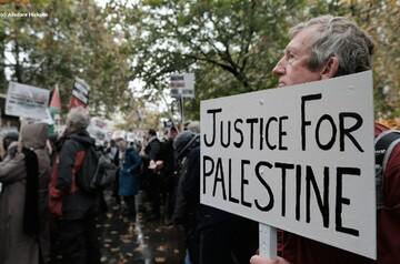 International protests against Israeli annexation of the west bank