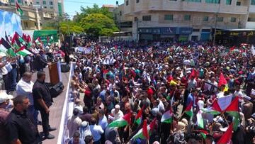 الآلاف بغزة يرفضون مخطط الضم ويدعون لانتفاضة شاملة