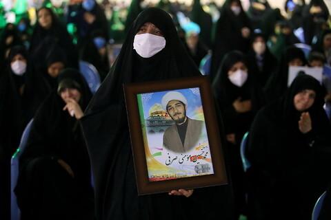 تصاویر/ یادواره شهید مدافع حرم ابراهیم رشید