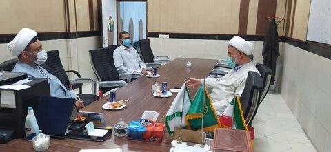 دیدار رئیس دارالقرآن خوزستان با مدیر حوزه علمیه خواهران خوزستان
