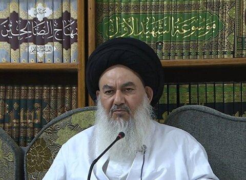 سید یاسین موسوی امام جمعه بغداد