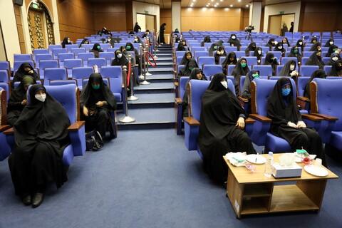 گردهمایی بانوان طلبه جهادگر در مرکز مدیریت حوزه خواهران