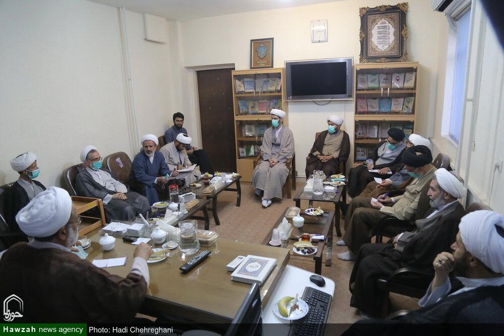 تصاویر/ نشست مشترک معاونت تبلیغ و انجمن تعلیم و تربیت اسلامی حوزه
