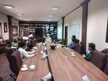 نشست شورای بسیج طلاب خوزستان مدیرکل دادگستری خوزستان برگزار شد