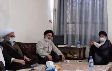 نماینده ولی فقیه در جهاد کشاورزی با امام جمعه اهواز دیدار و گفتگو کرد