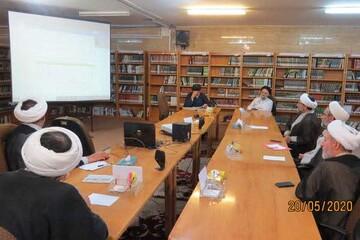 جلسه کمیسیون هیئت امنای مرکز امور نخبگان و استعدادهای برتر حوزه برگزار شد