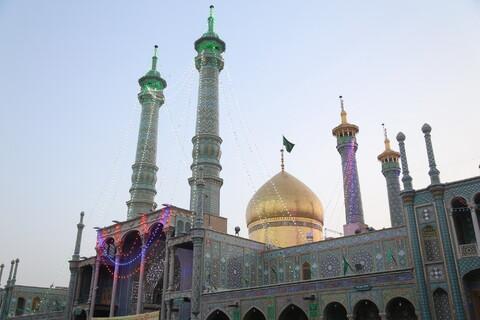 تصاویر/ پیاده روی خادمیاران رضوی از مسجد امام حسن عسکری(ع) تا حرم مطهر حضرت معصومه(س)