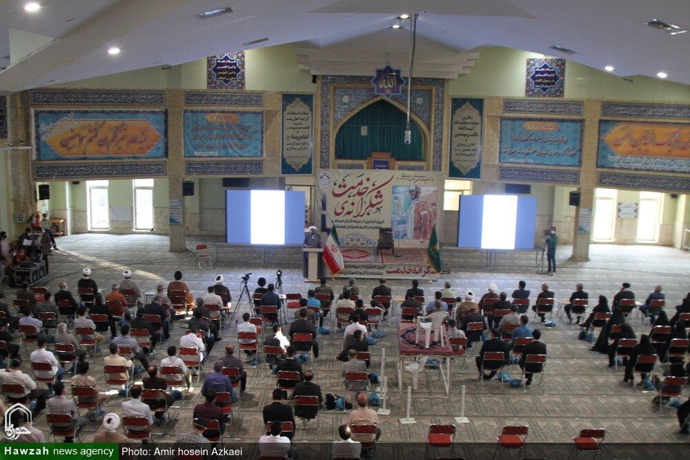 تصاویر / تجلیل از جهادگران مردمی مقابله با کرونا در استان همدان