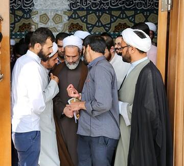 تواصل مباشر مع آية الله الأعرافي مدير الحوزات العلميّة في إيران