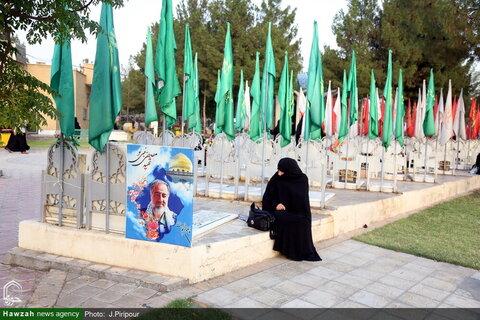 بالصور/ مراسيم تكريم أولاد شهداء المدافعين عن المقدسات بقم المقدسة