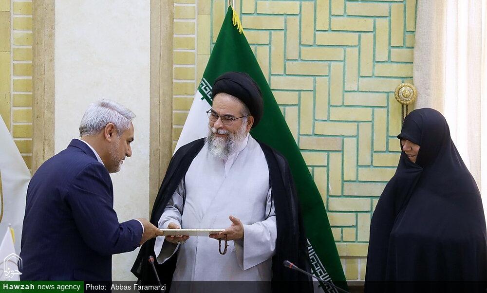 تصاویر/ تکریم و معارفه رئیس پژوهشگاه مطالعات اسلامی جامعة الزهرا(س)