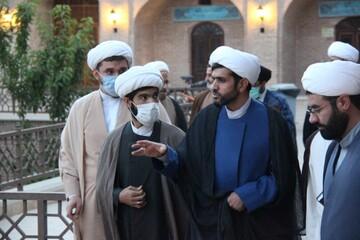 مدیر کل تبلیغات اسلامی قزوین از مدرسه صالحیه بازدید کرد