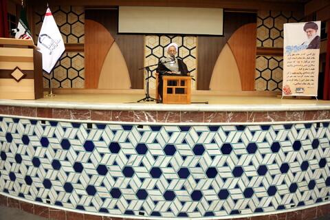 تصاویر/ همایش سالانه اساتید طرح ولایت با حضور آیت الله مصباح