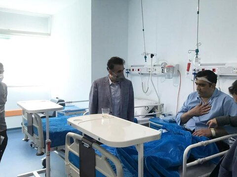 آغاز پذیرش اولیه بیمار و مرحله پیش راه اندازی بیمارستان امیرالمؤمنین قم