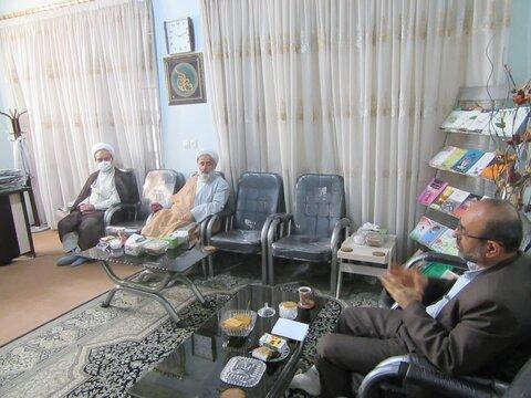 دیدار مدیر حوزه علمیه خواهران استان یزد با نماینده بنیاد صحیفه سجادیه