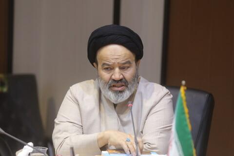 تصاویر / دیدار حجت الاسلام والمسلمین نواب، رئیس دانشگاه ادیان و مذاهب با آیت الله محمدجواد فاضللنکرانی