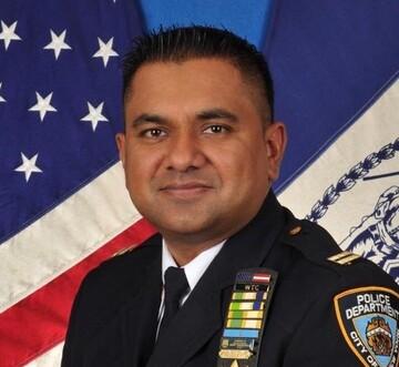 مسلمان آمریکایی مسئول منطقه یک پلیس نیویورک شد