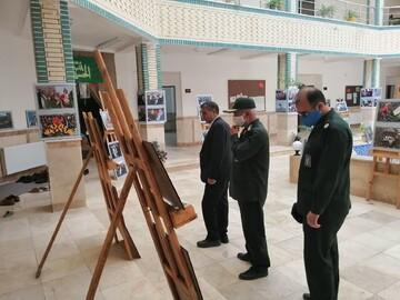 افتتاح نمایشگاه رستاخیز سردار سلیمانی در شبستر