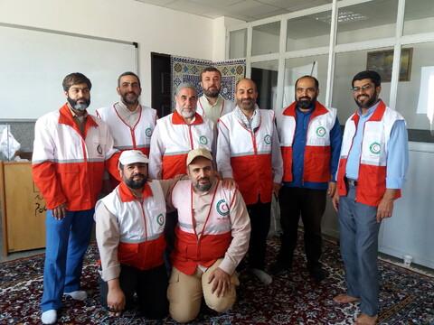 دوره آموزشی امداد و نجات ویژه کارکنان مرکز مدیریت حوزه