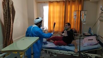 تصاویر/ حضور جهادی طلاب در بیمارستانهای هرمزگان