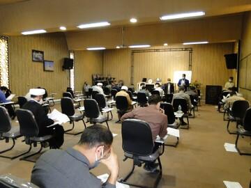 رقابت حوزویان اصفهانی در آزمون ورودی دانشگاه باقرالعلوم(ع)