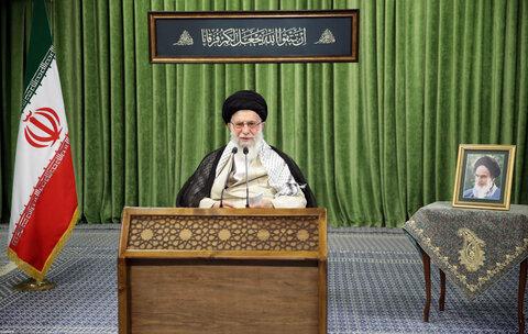 تصویری رپورٹ  رہبر معظم انقلاب اسلامی کا پارلیمنٹ کے نمائندوں سے ویڈیو لنک کے ذریعے خطاب