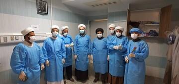 تشکیل گروه طلاب و روحانیون جهادگر بوشهر برای همراهی با بیماران کرونایی