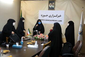 تصاویر/ نشست تخصصی بانوان با موضوع عفاف و حجاب در خبرگزاری حوزه