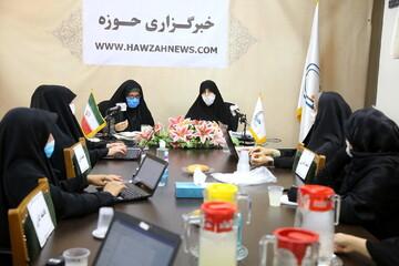 گزارشی از نشست تخصصی بانوان در خبرگزاری حوزه