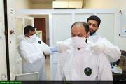 تشریح فعالیتهای مدرسه علمیه امام محمدباقر(ع) شهرستان شوش در مبارزه با کرونا
