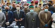 نخستوزیر عراق به حرم امام حسین(ع) مشرف شد