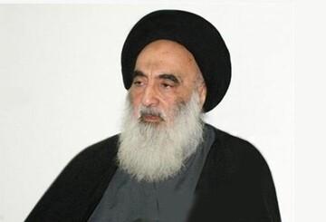 آیة الله السیستاني یدعو للتضامن مع الشعب اللبناني