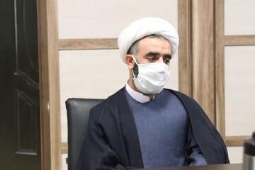 مدیر حوزه خواهران بوشهر به پویش «من ماسک میزنم» پیوست