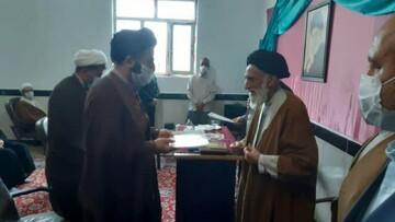 «حسینی» سرپرست مدرسه علمیه امیرالمومنین(ع) درگزین شد