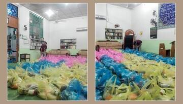 استمرار کمکهای دفتر آیتالله سیستانی به خانوادههای نیازمند در بحران کرونا