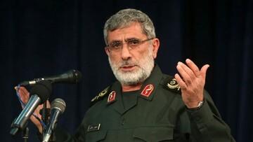 US, Zionist entity will undergo hard days: Brigadier General Qaani