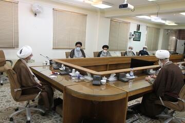 تصاویر/ دیدار هیأت رئیسه مجمع نمایندگان طلاب با اعضای شورای عالی حوزه