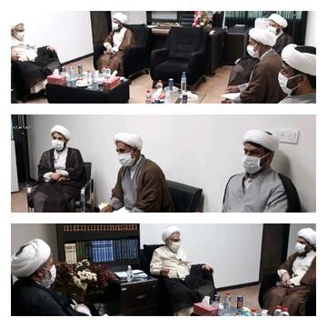 جلسه شورای همکاری نهادهای حوزوی استان هرمزگان تشکیل شد
