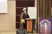 تصاویر/مراسم معارفه مدیر جدید مدرسه علمیه امام صادق (ع) قروه