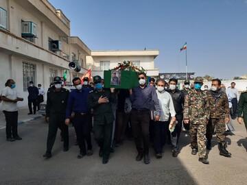 هفتاد و چهارمین شهید مدافع حرم در کاشان تشییع شد